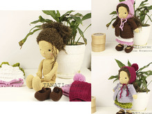 "CROCHET PATTERN ""TANATI doll"""