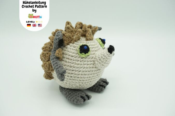 Muki-Hedgehog Crochet Pattern
