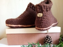 Pattern Slippers Boots