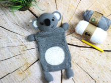 "Crochet Pattern - Cuddle Cloth Koala ""Tabi"""