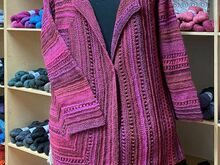 Pattern Colorways 3 - Square Cardigan