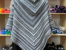 Pattern Colorways 3 - Hooded Shawl