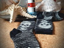 Skullsocken Illusionsstricken