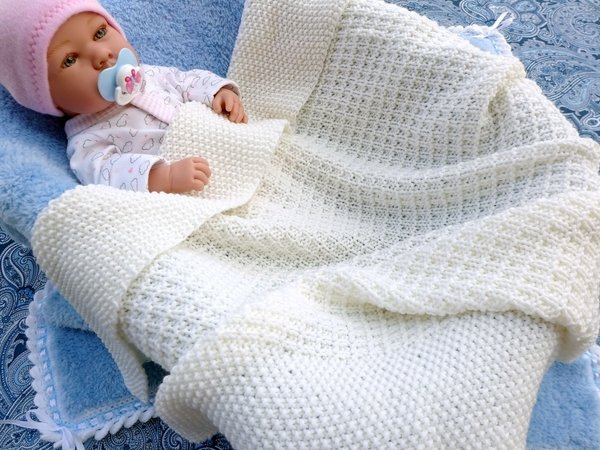 Pattern Beautiful baby blanket
