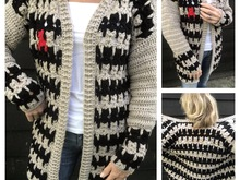 Pattern CATS Cardigan
