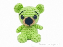 Crochet pattern Little Bear PDF Ternura Amigurumi English - Deutsch - Dutch
