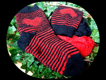 Herzsocken Illusionsstricken