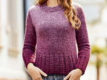 PULLOVER RED BERRY