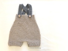 Crochet pattern Baby pants
