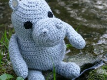 Hubai the Hippo crochet pattern