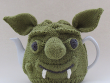 Goblin Head Tea Cosy Knitting Pattern