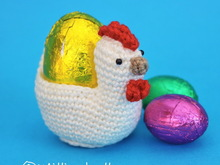 Chicken Egg Cosy Holder Easter Spring