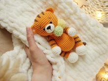 Crochet pattern amigurumi Rio the tiger
