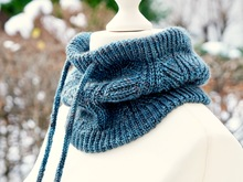 """Westside Cowl"" - the cowl for men, knitting pattern"