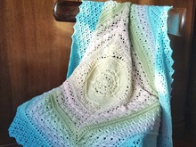 Pattern Anna's Tales Baby Blanket