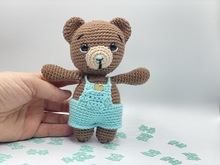 Crochet Pattern Cute Teddybear