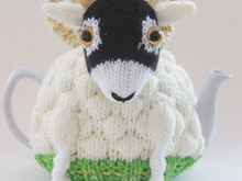 Swaledale Sheep Tea Cosy Knitting Pattern