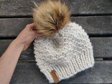 Snowflake Knit Hat Pattern