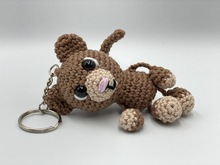 Crochet Pattern - Key Chain with monkey