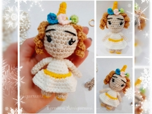 Crochet pattern Unicorn girl PDF English Deutsch Dutch Ternura Amigurumi