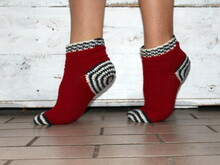 Spiralsocks sizes 34- 42 crochet pattern