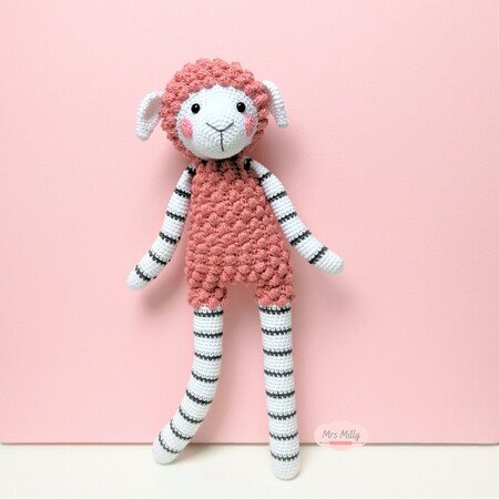 crochet pattern Sheep Lize