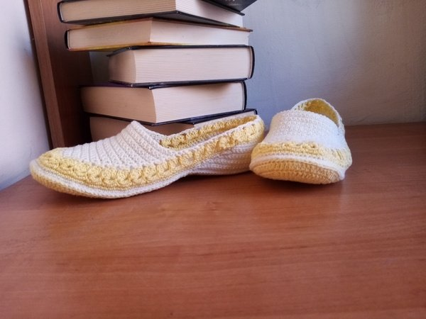 Ballerinas. Crochet pattern
