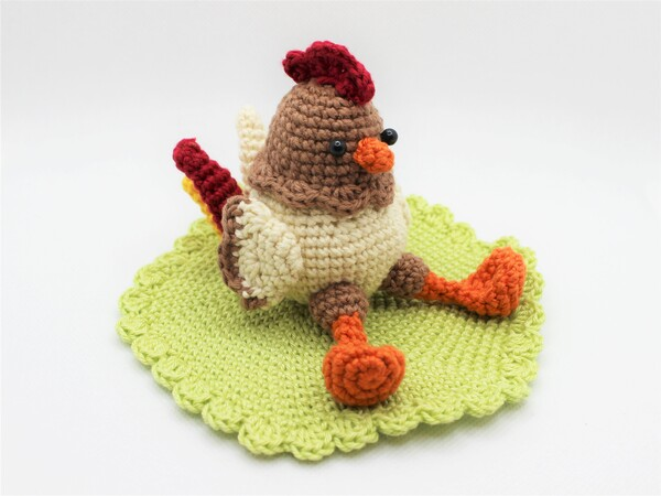 Crochetpattern Rooster Frederic