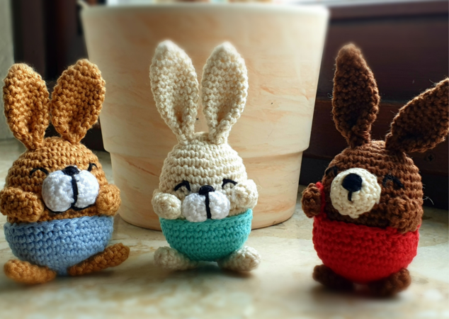 Pattern Datsies bunny gang