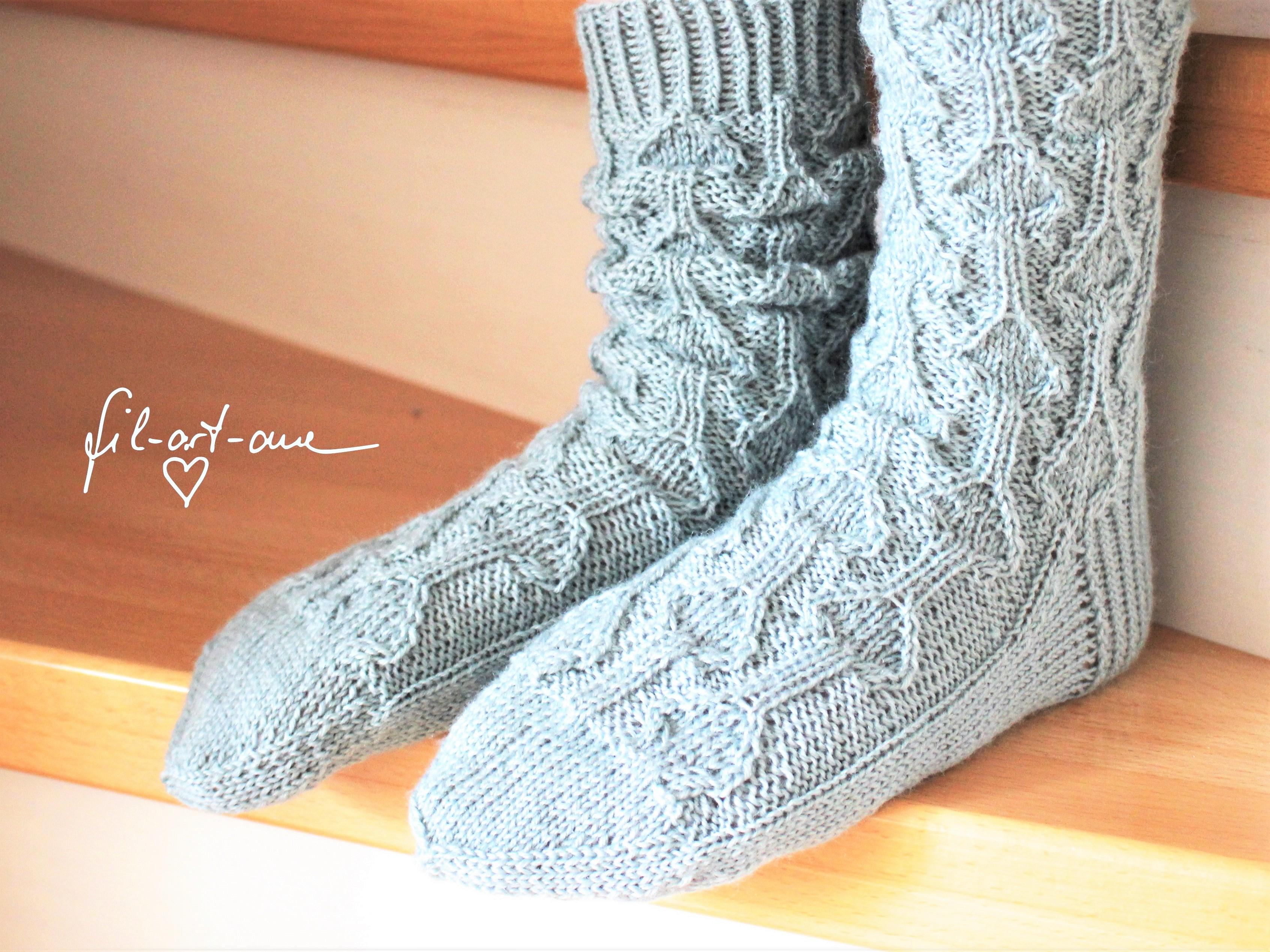 Hausschuhe / Socken handarbeiten - Empfehlungen Forum