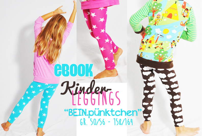 a8c43210b5 Schnittmuster Kinder-Leggings nähen // DIY