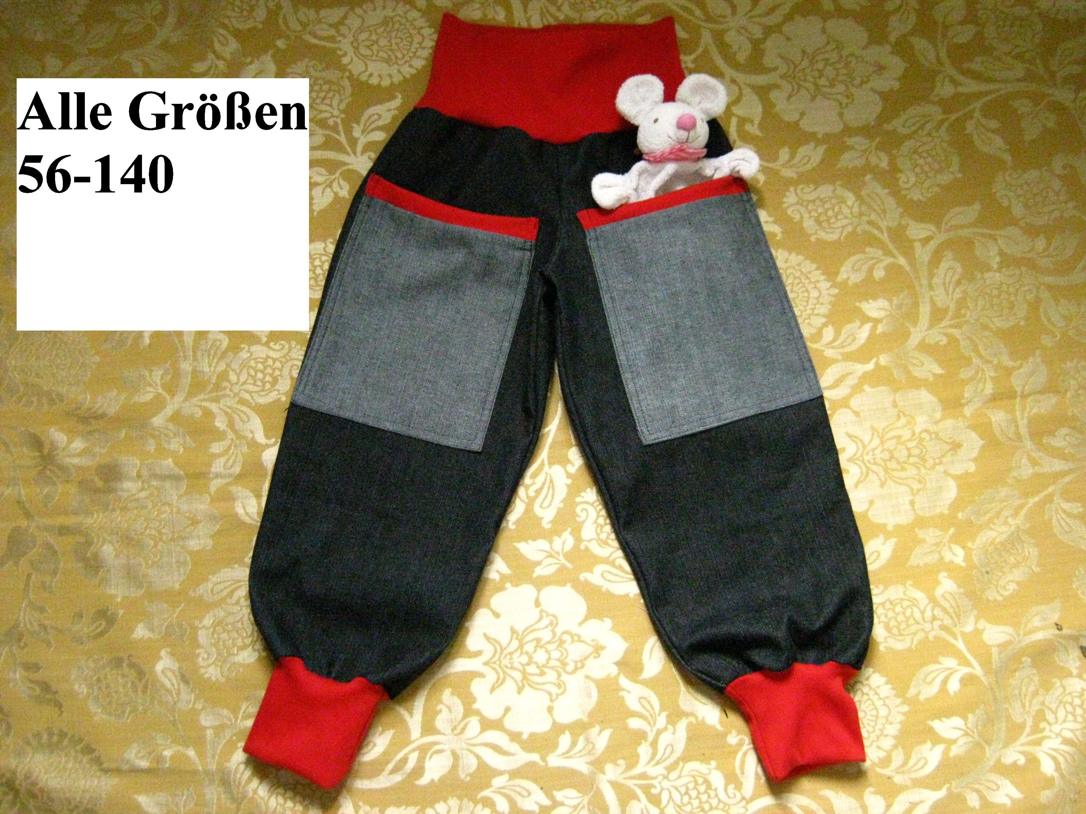 Pumphose Hose Babyhose Kinderhose Baby Kind Jungen Mädchen Gr.56-116