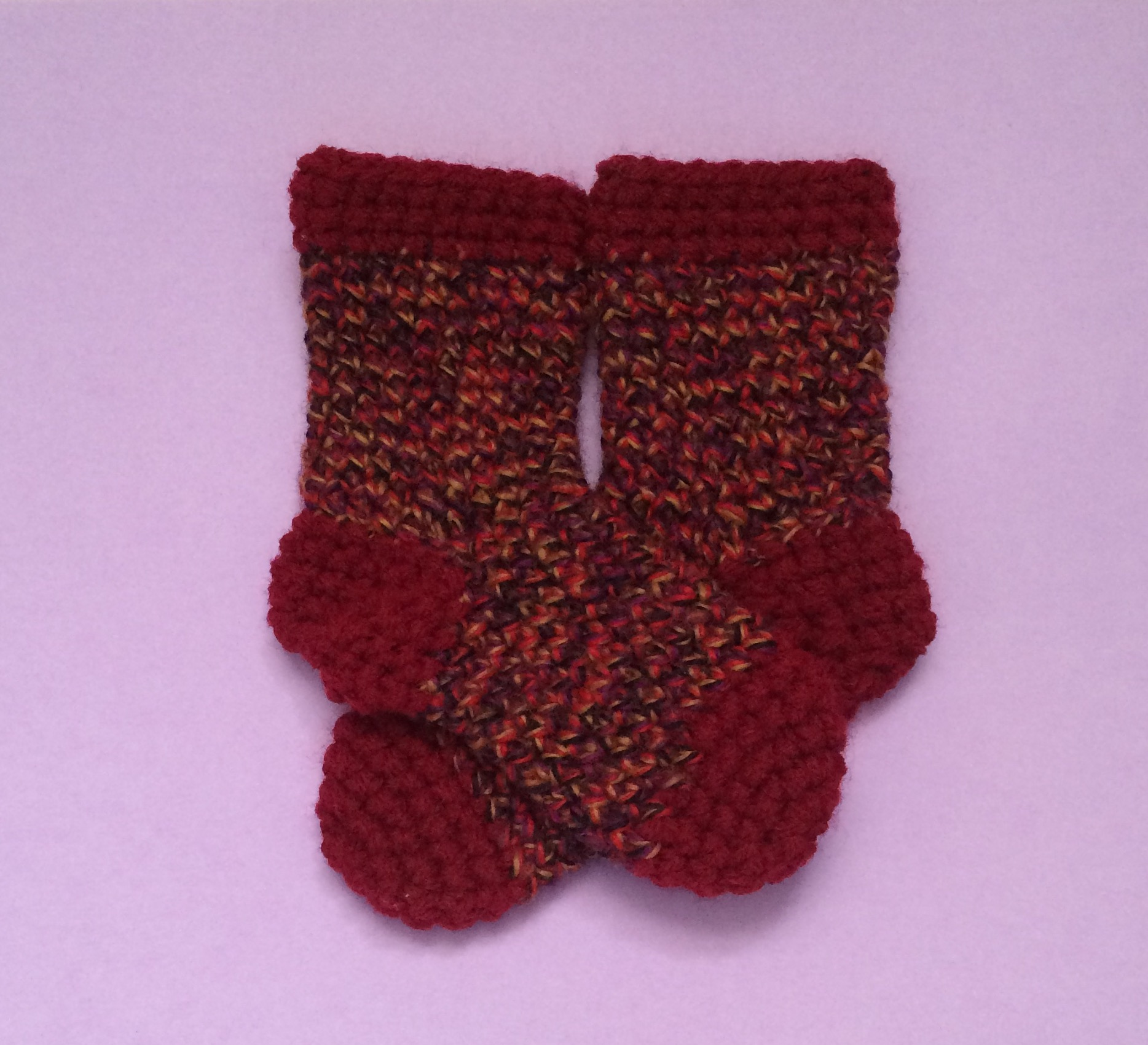 Crochet Baby Socks Pattern 0 6 Months 4 12 Inches 1143 Cm