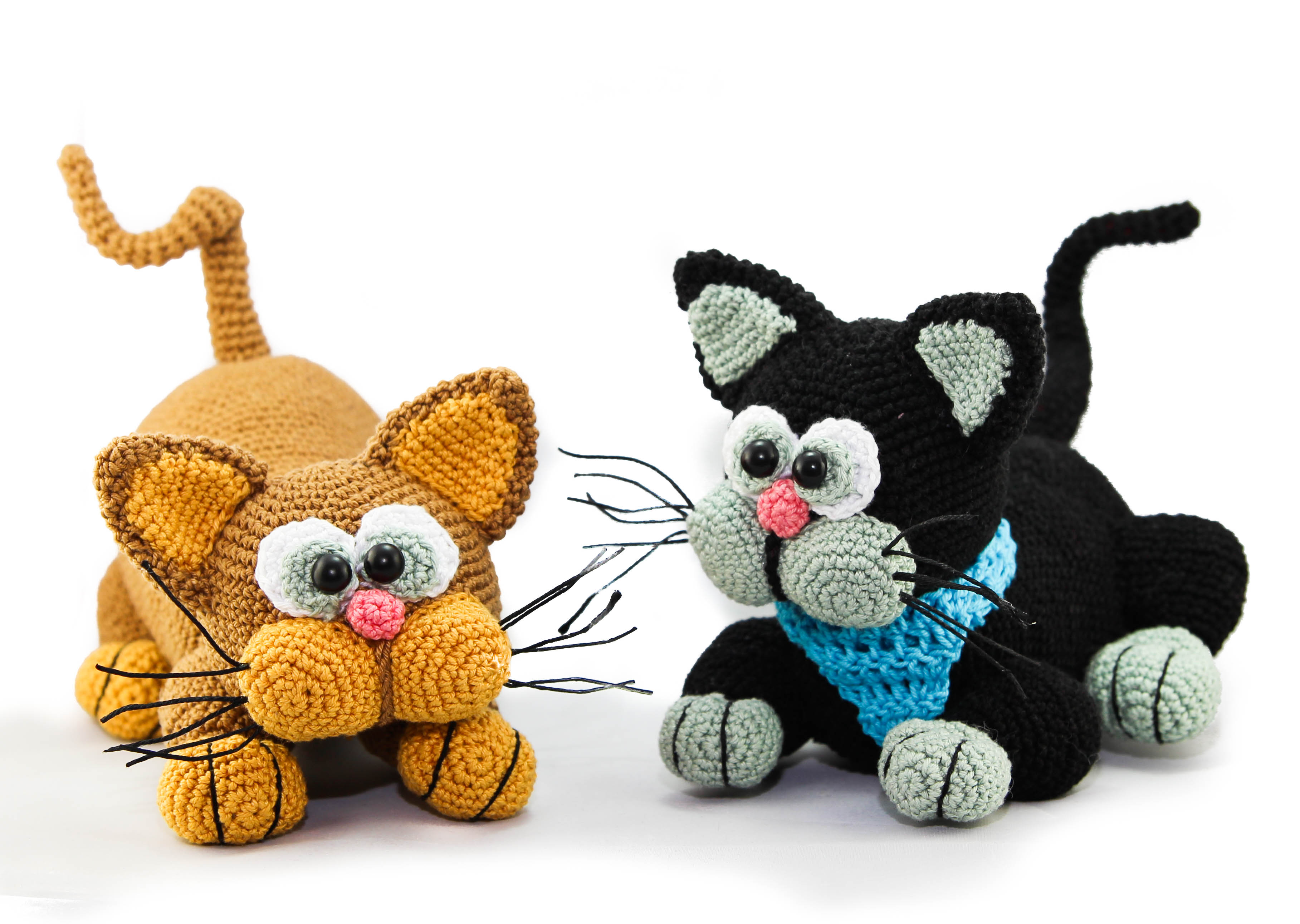 Jeremy the Amigurumi Cat (Free English Pattern) | Bichinhos de ... | 2584x3634
