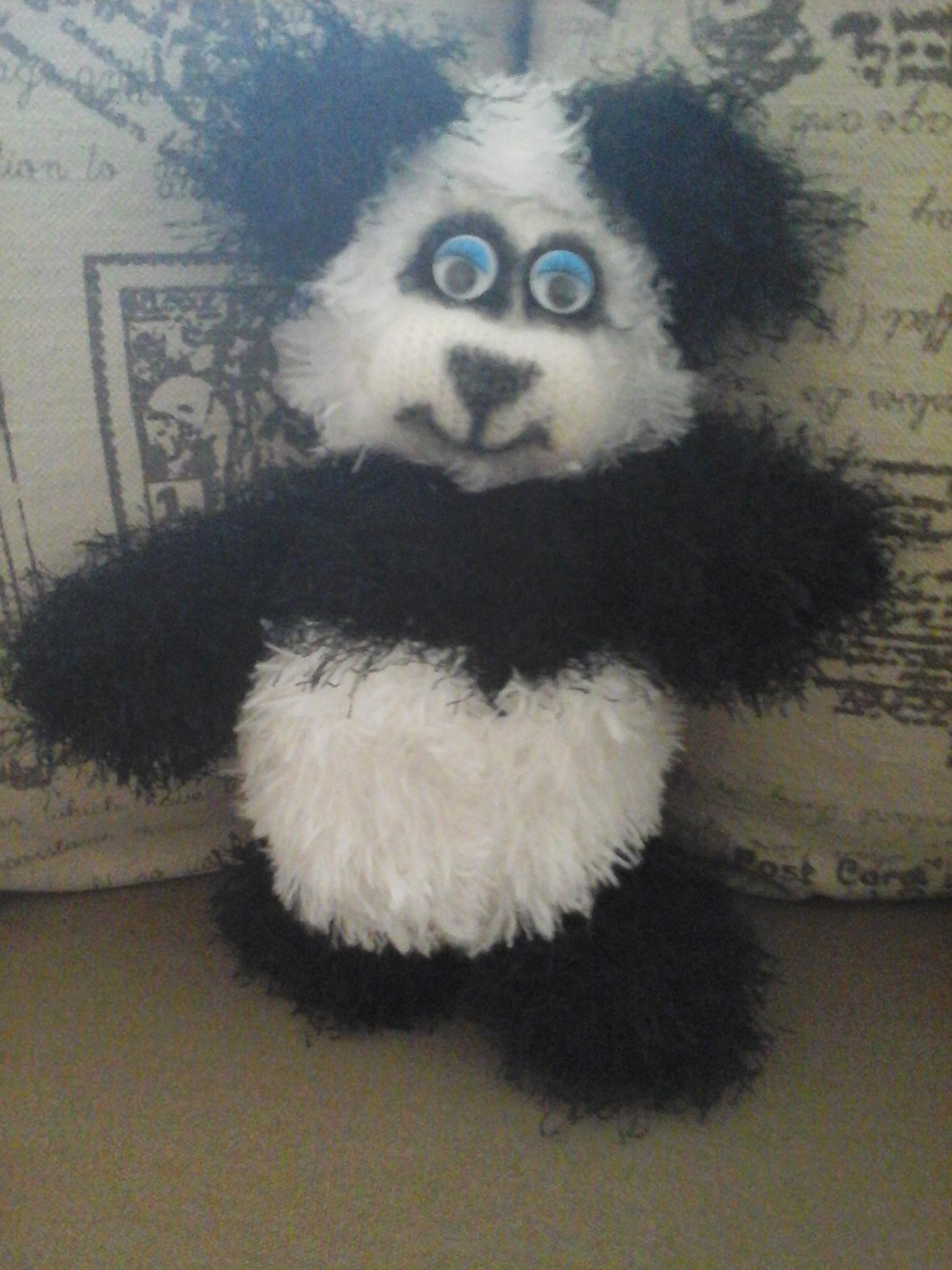 Panda häkeln // klein + knuffig + must have   2048x1536