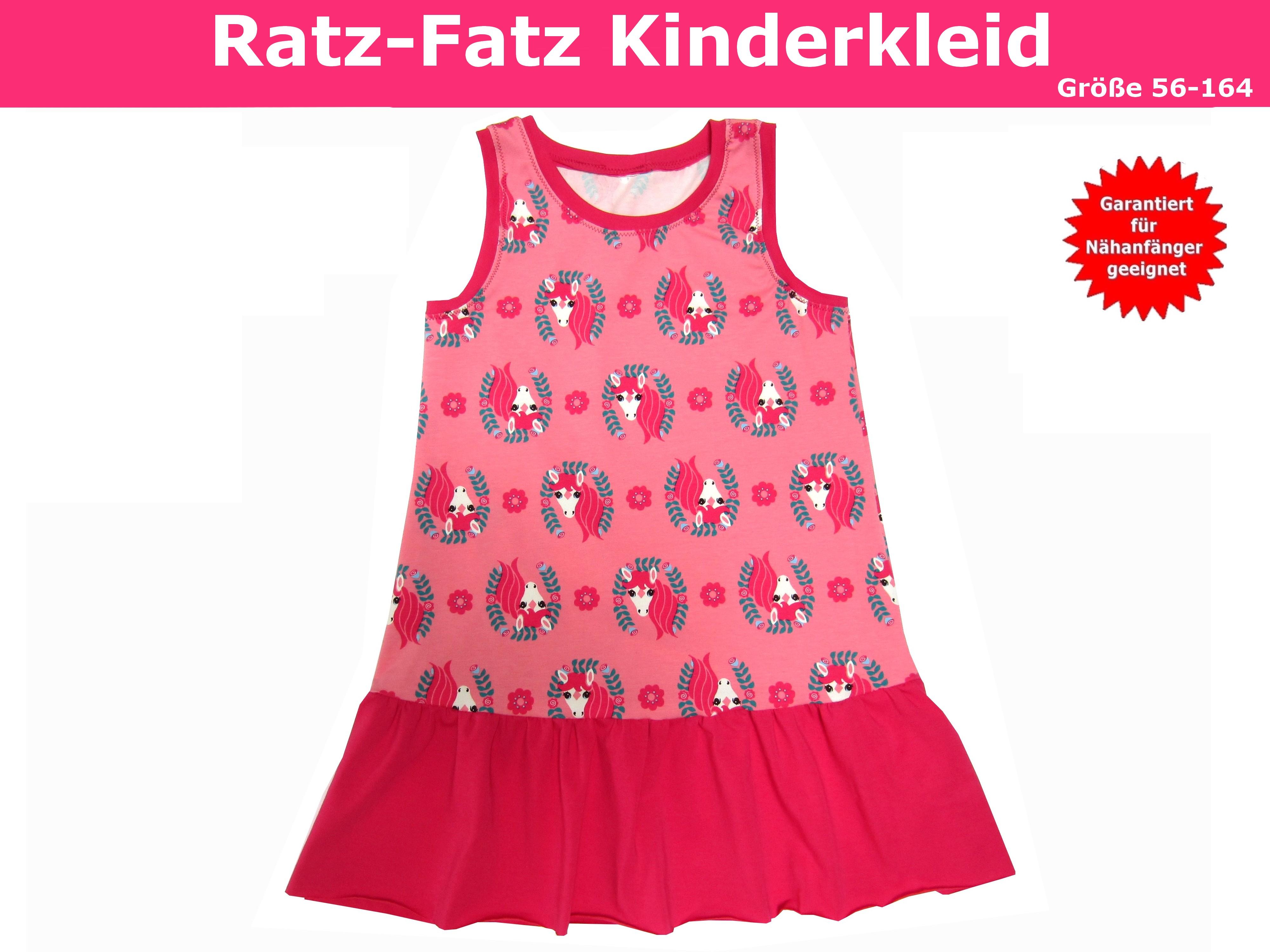Fatz Kinderkleid Kinderkleid Nähanleitung Ratz Fatz Schnittmusteramp; Ratz Kinderkleid Fatz Ratz Schnittmusteramp; Schnittmusteramp; Nähanleitung vNymwn0O8