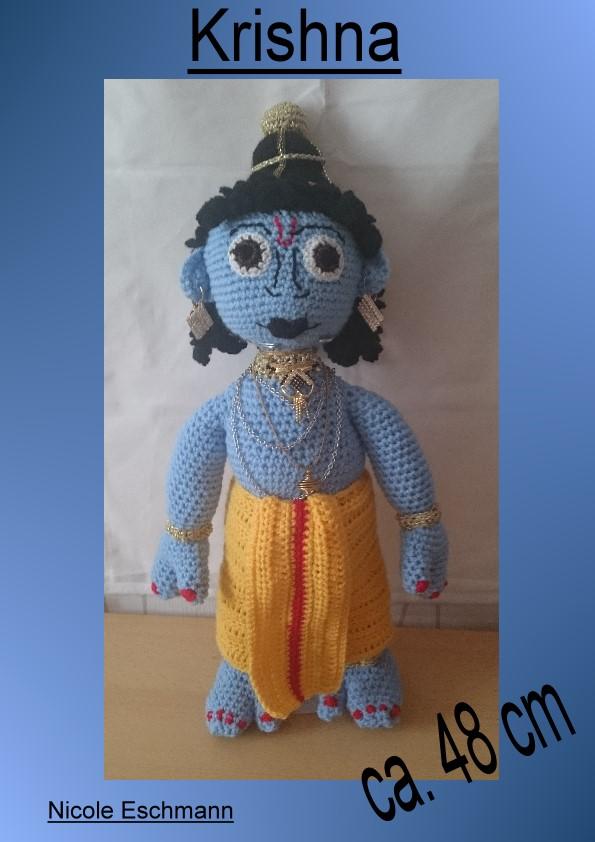 photo tutorial of crochet ganesha | Crochet elephant, Crochet ... | 842x595