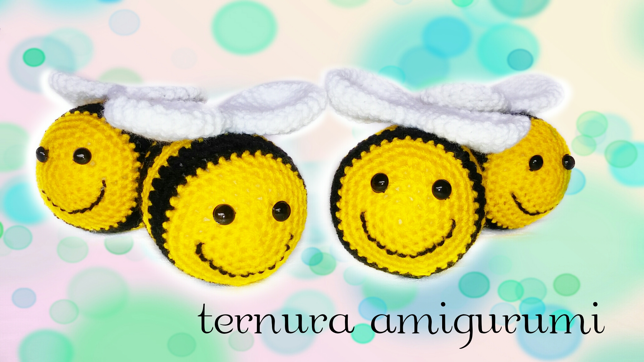Amigurumi Bees Pattern: Bumble & Queen Bee - All About Ami | 1152x2048