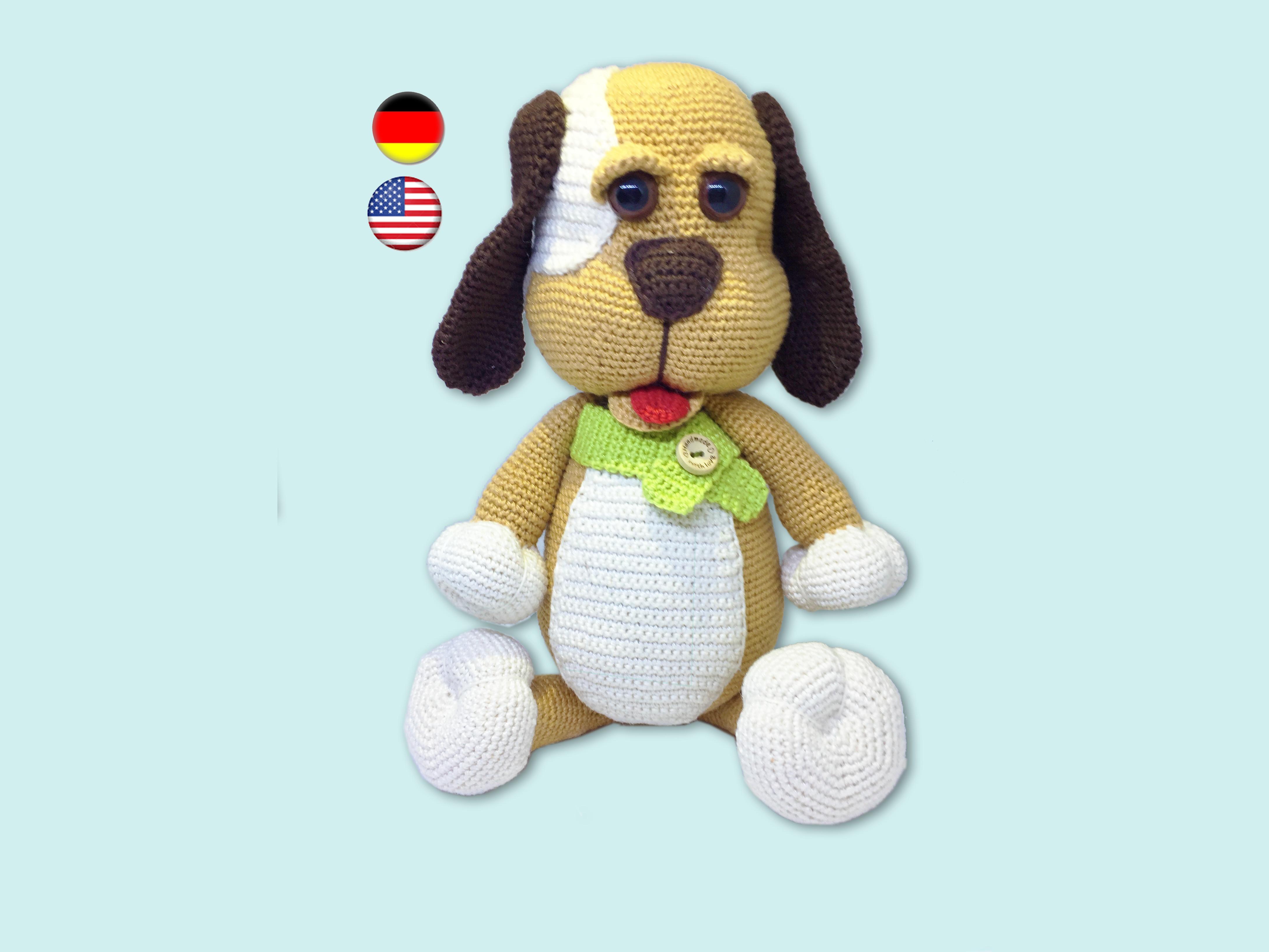 Amigurumi dog pattern for Lady Dachshund. Crochet colorful tabby ... | 3264x4350