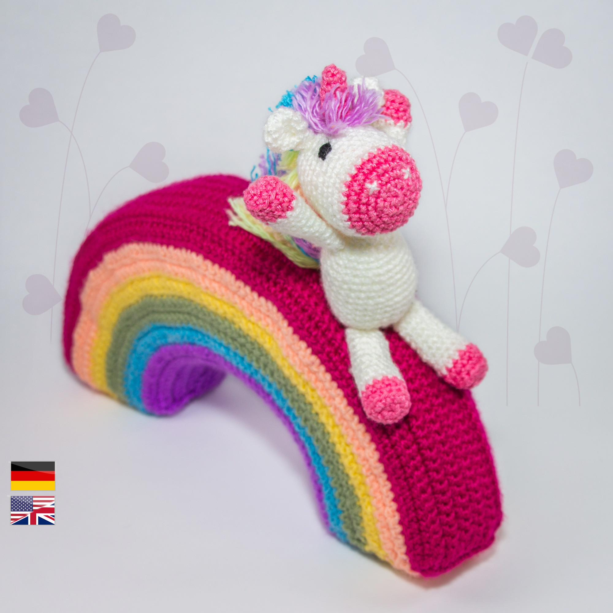 Baby unicorn amigurumi pattern - Amigurumi Today | 2000x2000