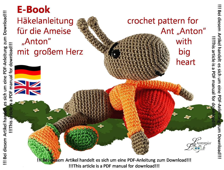 Herz häkeln - DIY-Anleitung für ein einfaches Häkelherz - Talu.de | 1154x1523