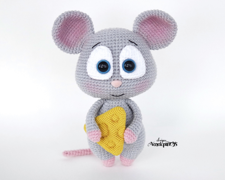 Amigurumi pattern - Ballerina mouse | More information on li… | Flickr | 2402x3000