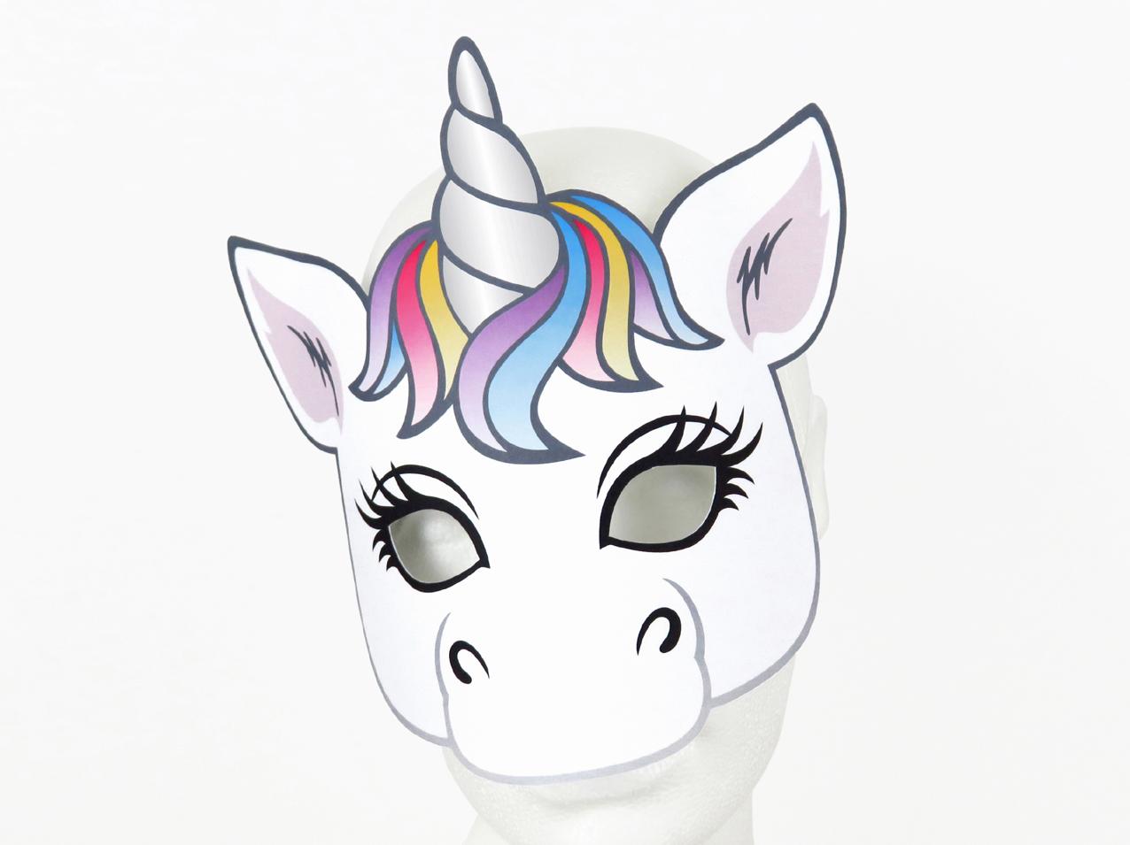 Masken Basteln Fur Kinder 22 Ideen Und Vorlagen 1