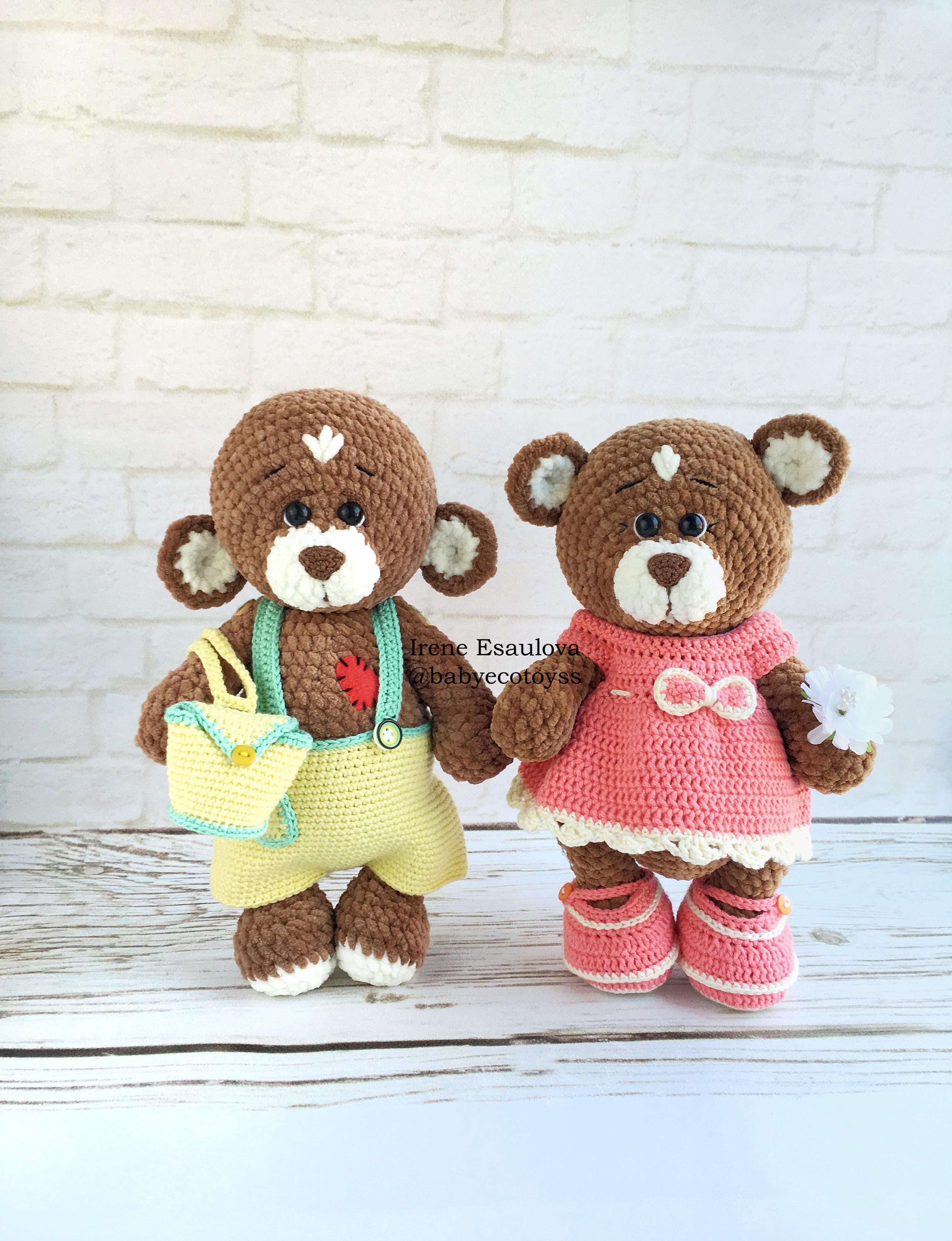 Ravelry: Teddy Bear Dress and Headband pattern by linda Mary   3943x3024