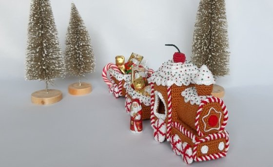 Christmas-Express - Crochet pattern