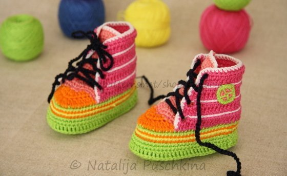 Baby Booties Crochet pattern - Shoes crochet